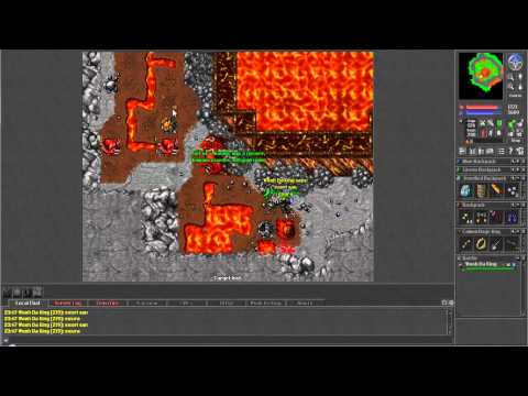 Tibia: The Grindfest - Goroma Volcano World Change Hunt (Part 1 of 3)