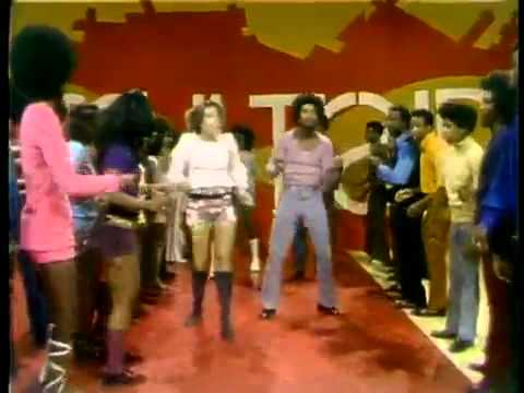 Thumbnail of video Soul Train Line Dance to Aretha Franklin  Rock Steady