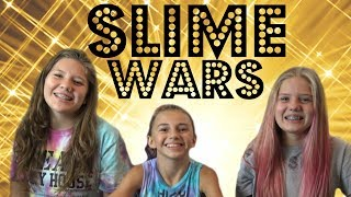 Slime Wars: Blinfolded Edition with special guest Kayla Davis    Taylor and Vanessa