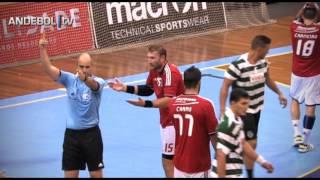 Andebol :: 04J :: Sporting - 29 x Benfica - 28 - 2013/2014