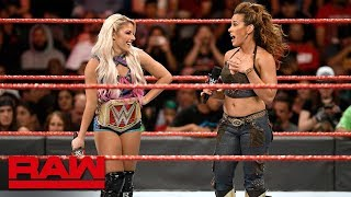 Natalya interrupts Alexa Bliss' boasts: Raw, June 25, 2018
