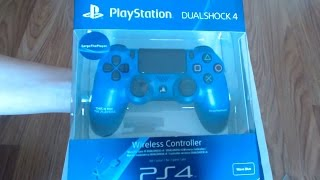DualShock 4 Unboxing PL (niebieski Pad SargeThePlayer