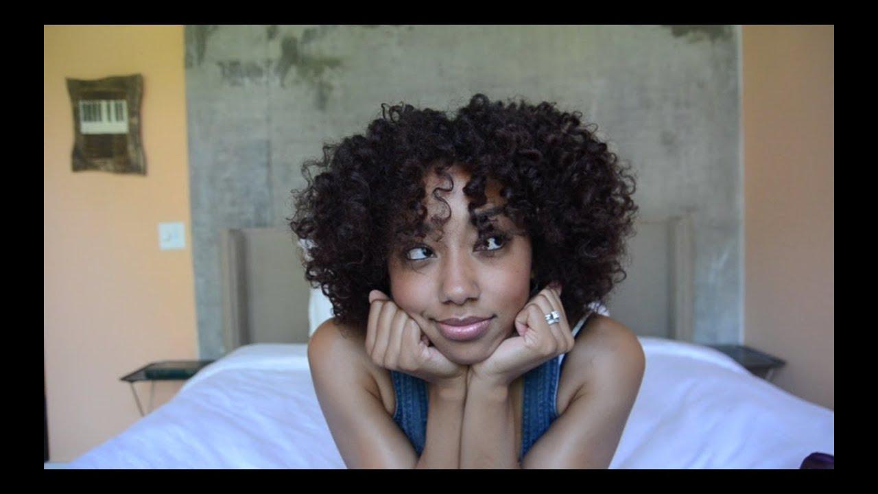 Hair Tutorial: BOUNCY HEATLESS CURLS - YouTube