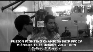 Diego Dongo espera obtener un nuevo triunfo en el Fusion Fighting Championship