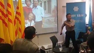 Vụ GS Phạm Minh Hoàng: Giám đốc tổ chức nhân quyền Châu Á gửi thông cáo khẩn chửi chính quyền CSVN