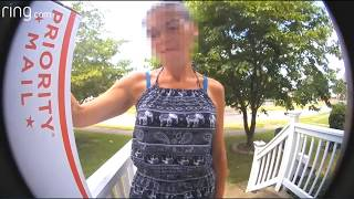 Package Thief caught on Camera by the Ring.