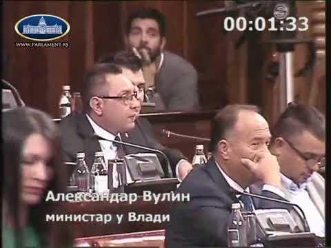 Александар Вулин о примедбама партија ДОСа на наоружавање Војске Србије