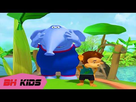 Phim Hoạt Hình 3D Hài Hước Vui Nhộn Thỏ Trắng và Sư Tử  - Tập 12 ( Hoạt Hình Lồng Tiếng)