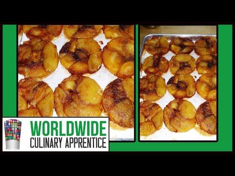 Tarte Tatin - Caramelized Apple Tart - Apple Tart Tatin - Rustic Desert