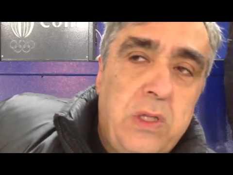 Guido De Angelis dopo Lazio-Inter 1-0