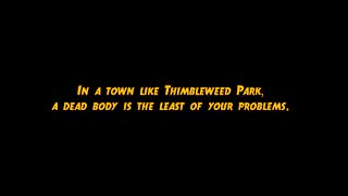 Thimbleweed Park - Delores Trailer