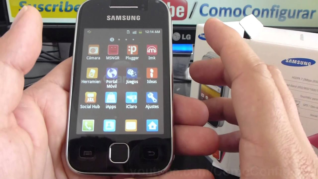 caracteristicas samsung galaxy y s5360 español Video Full HD - YouTube