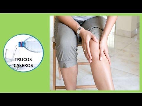Remedios naturales para aliviar el dolor e inflamación de las rodillas.