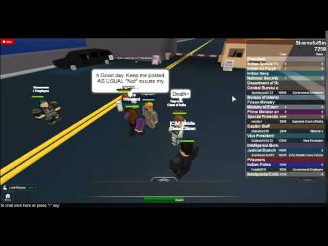 India Vice President - ROBLOX Admin Abuse
