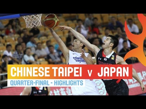 Chinese Taipei v Japan - Highlights Quarter-Final - 2014 FIBA Asia Cup