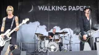 "Walking Papers - ""Butcher"" ""2 Tickets and a Room"" & ""Climber"" Uproar Festival 2013 Live, 8/16/13"