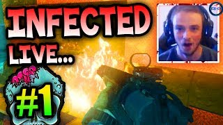 """INFECTED IS BACK!"" - Infected LIVE w/ Ali-A #1! - (Call of Duty: Ghost Gameplay)"