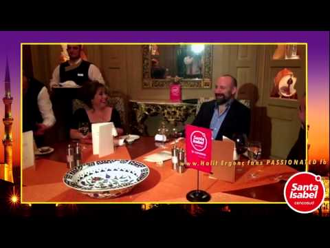 Halit Ergenc in a meeting for dinner.... with the Chilean lady 16/1/2015