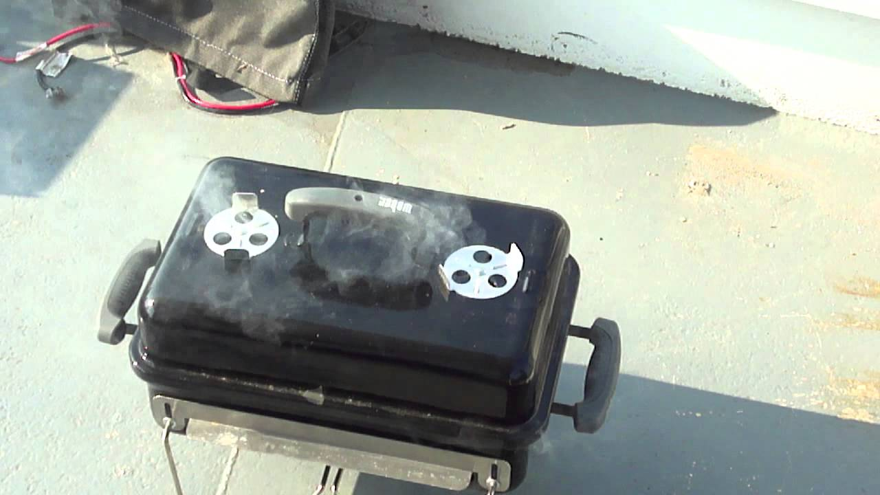 Weber go anywhere grill review youtube - Weber go anywhere ...