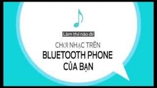 Hướng dẫn sử dụng SYNC - Nghe nhạc trực tuyến từ điện thoại