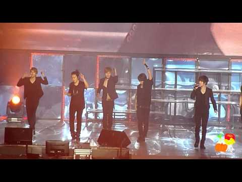 [Fancam] 110130 Super Junior SS3 Singapore - A Man In Love
