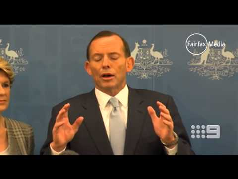 Tony Abbott appears to waver on key parts of his contentious asylum seeker policy