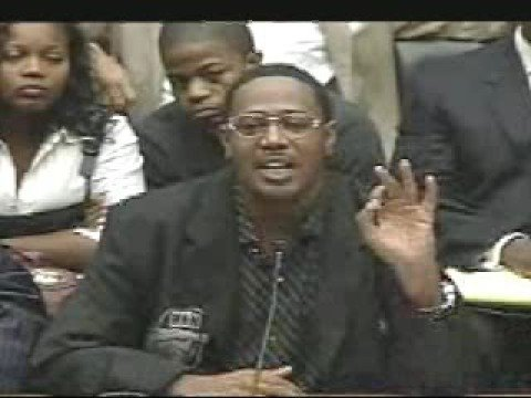 Congressional Hearings on Hip Hop - Panel 2 (2 of 9)