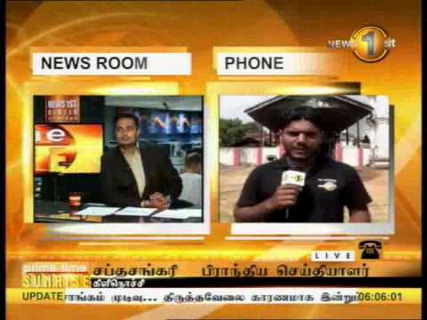 SHAKTHI BREAKFAST news 1st - 04-04-2014 - 6 am