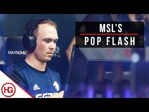 MSL's Flash for Pop on Train (CS:GO Quick Tips #31)