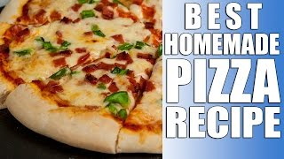 Pizza Pizza ! Recipe - 2 Home Made Pizzas Yeast Dough