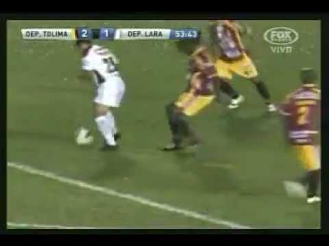 Gol de Torrealba (DL) hermosa media vuelta - Dep.Tolima 2 - Dep. Lara 1 - C. Sudamericana