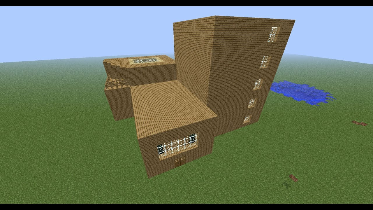 Cool minecraft creations hotel youtube