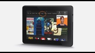 The Kindle Fire HDX
