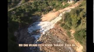Rio das Velhas est� sob alerta, mas PBH descarta emerg�ncia