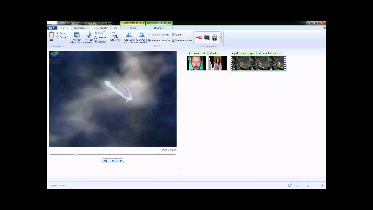 Tutorial - Cómo usar Windows Live Movie Maker - YouTube