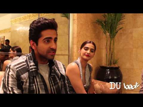 DU Beat Interviews Ayushmann Khurrana and Sonam Kapoor