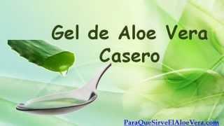 Gel De Aloe Vera Casero