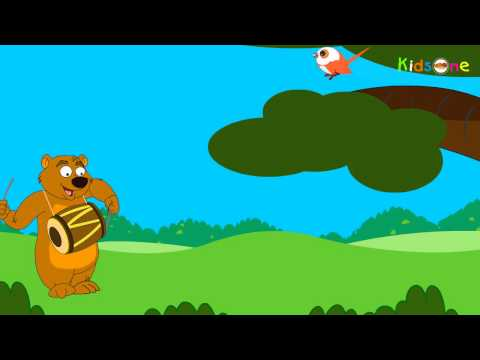 Chu Chu Karti Aayi Chidiya - Hindi Animated Rhymes for Kids