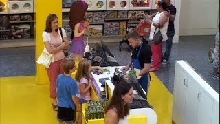 Kevin the Cashier at the LEGO Store