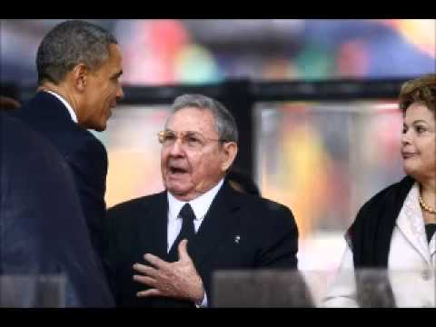 Raul Castro Spoke English To President Obama