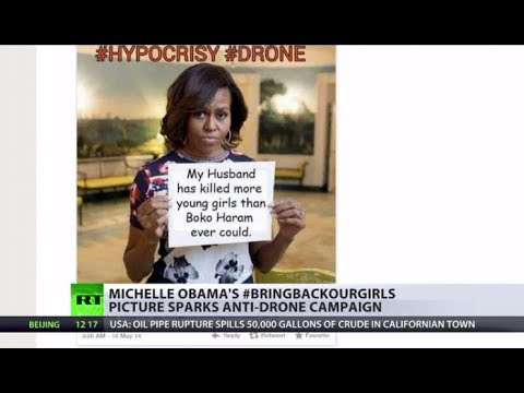 Viral Recoil: Michelle Obama's hashtag activism backfires with anti-drone campaign