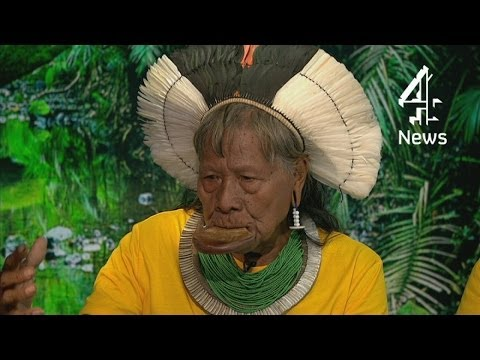 Brazil World Cup 2014: Amazon tribe leader's message to England team