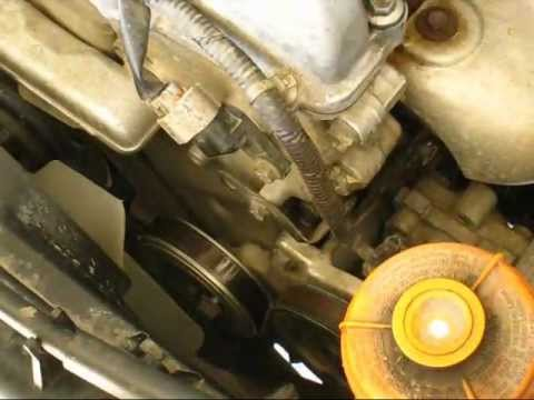changement courroies accessoires jimny, how to change belt accessory