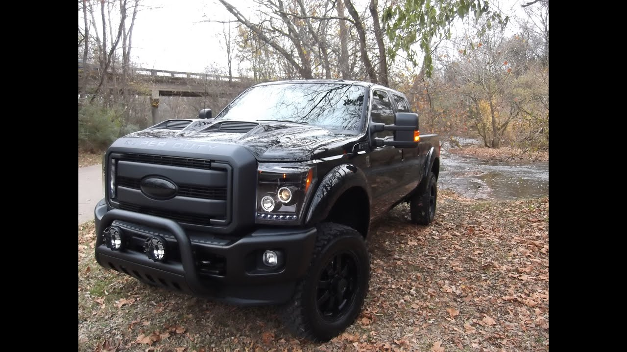 f 250 black ops tuscany - photo#6