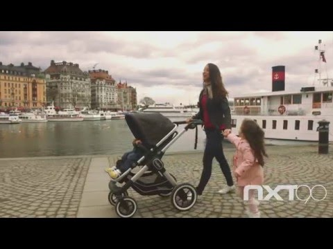 Emmaljunga NXT90 Lounge Stroller, Go Double And Carrycot