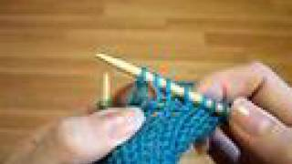 How To Knit The Yarn Over