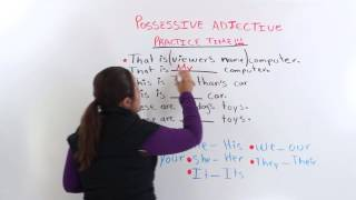Possessive Adjectives, English Grammar Videos
