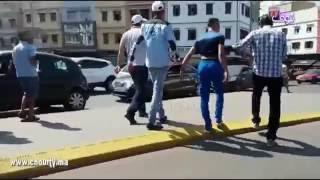 بالفيديو.. هذا ما وقع لسارقين في سوق القريعة بكازا |