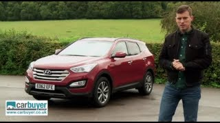 Hyundai Santa Fe review - CarBuyer videos