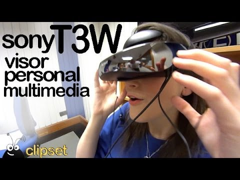 Sony T3W multimedia personal viewer VideoCast